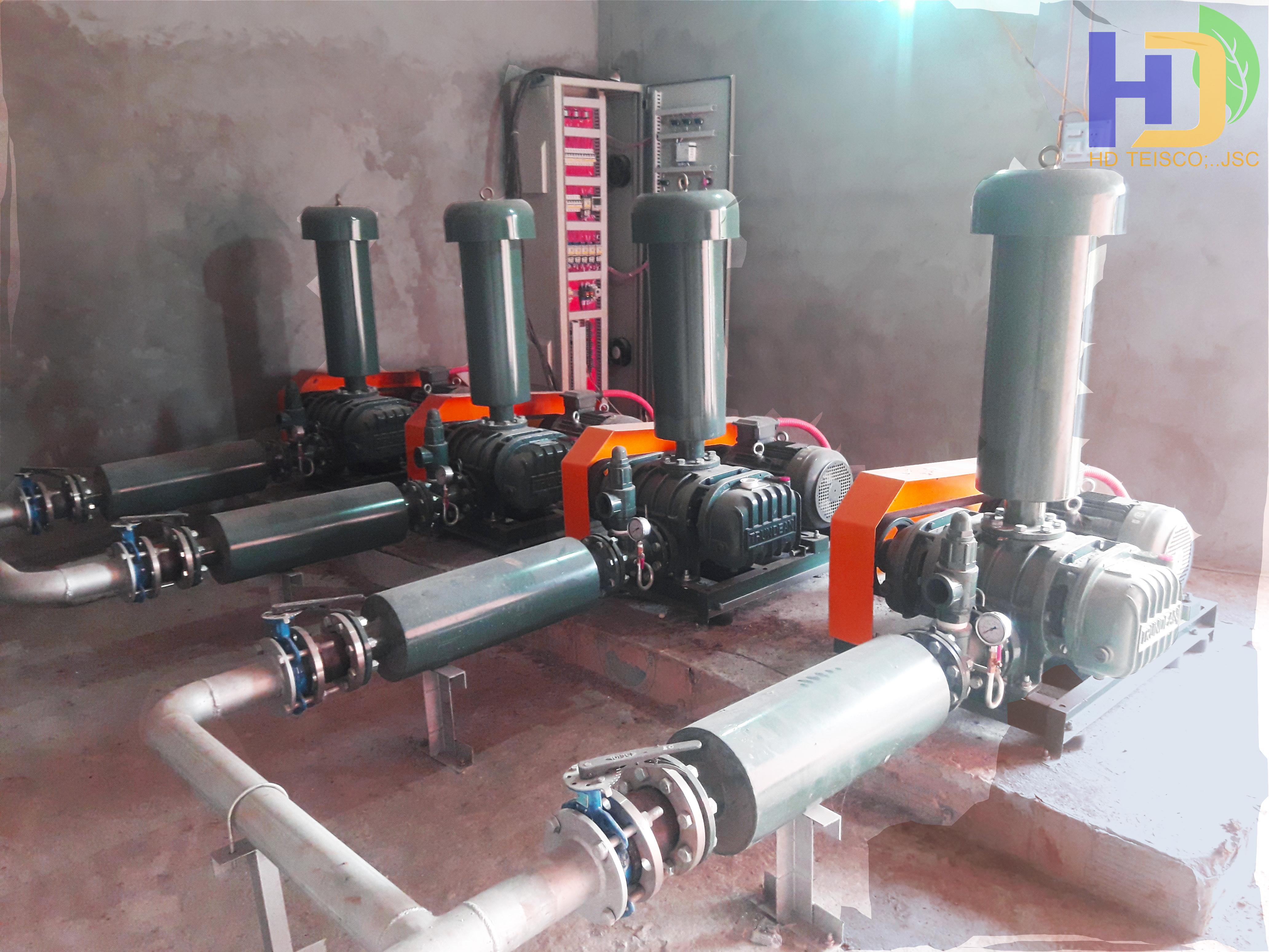 Hệ thống xử lý nước thải khu chăn nuôi D26