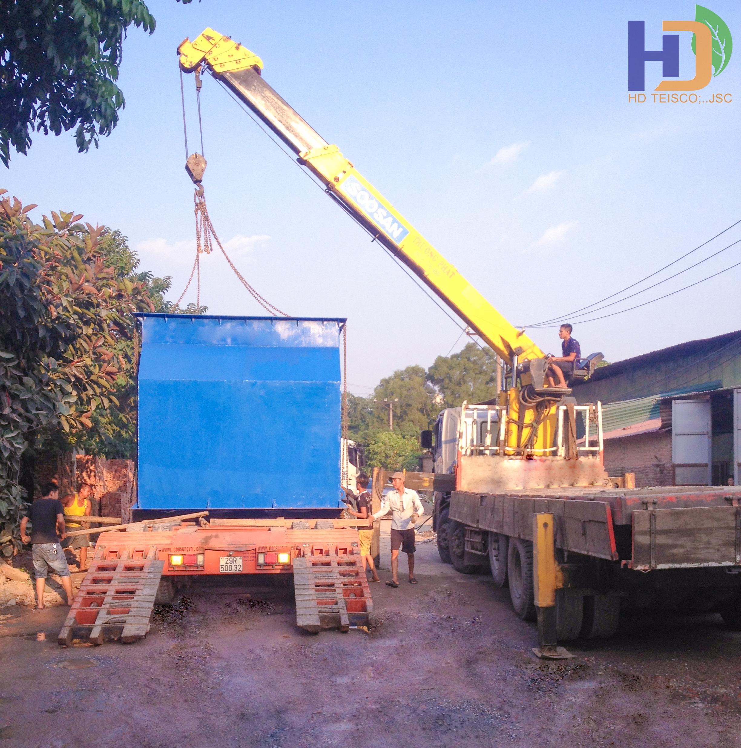 Hệ thống xử lý nước sạch – Thị Trấn Cao Thượng