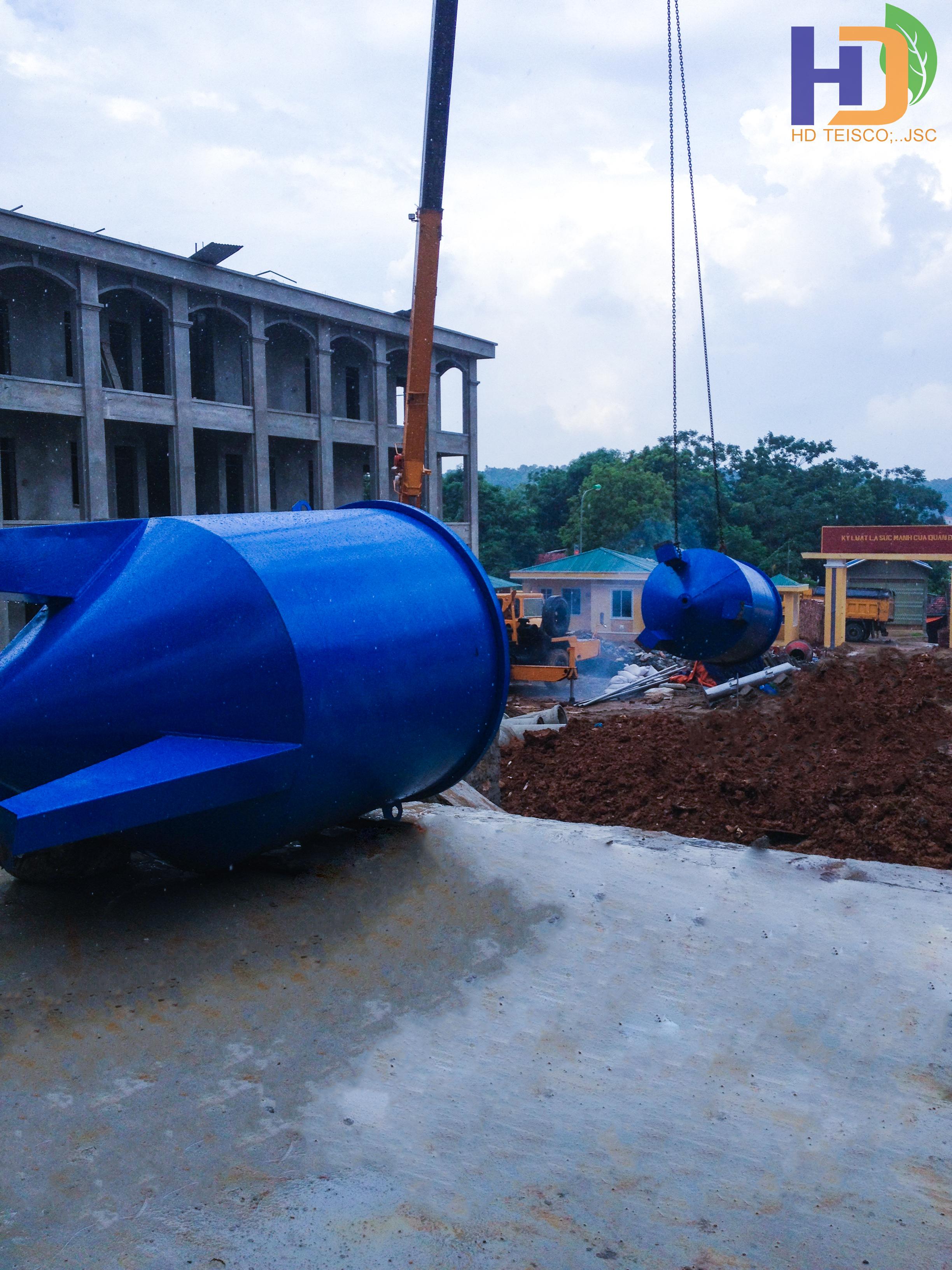 Hệ thống xử lý nước sạch – Doanh trại D22-C12 Lữ đoàn/QCPKKQ
