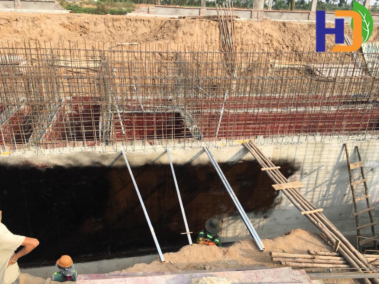 Trạm xử lý nước thải sinh hoạt Hà Phong – công suất 1.000 m3/ngđ (giai đoạn 1 công suất 100 m3/ngđ)