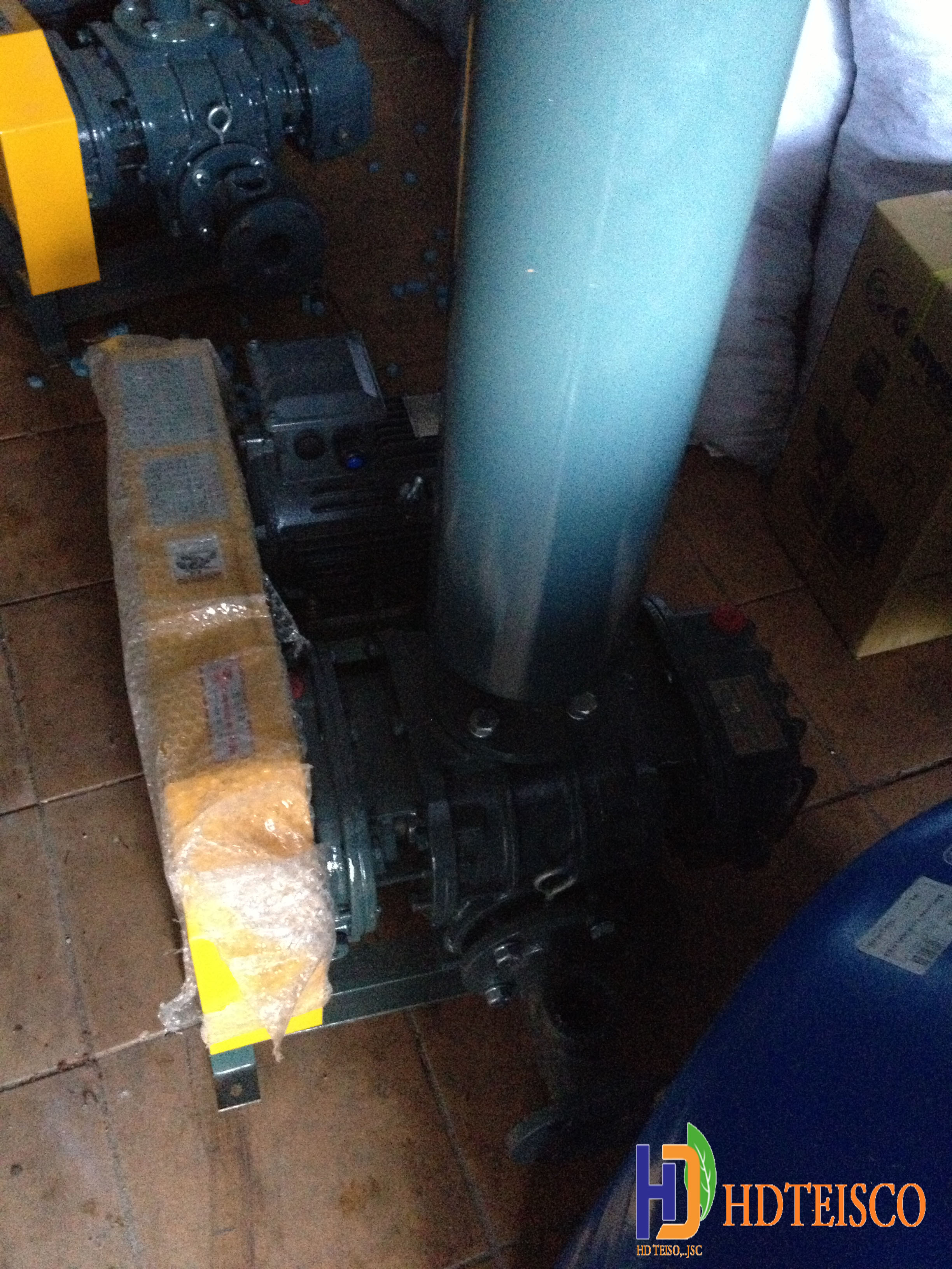 Xây dựng trạm xử lý nước thải nhà hàng Bánh Tôm Hồ Tây