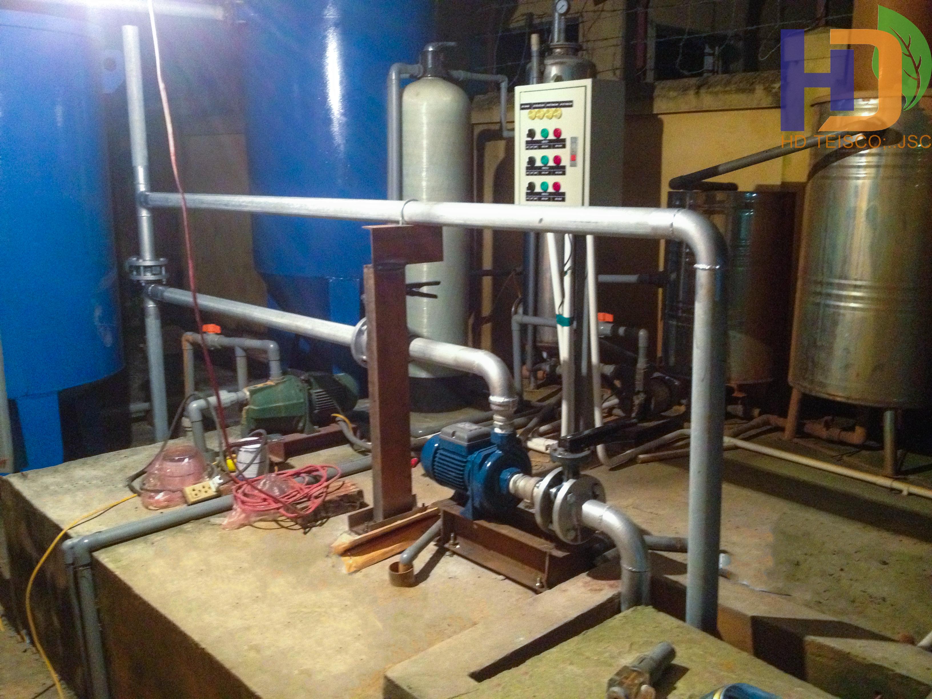 Hệ thống xử lý nước sạch – Doanh trại D22-C14 Lữ đoàn 26/QCPKKQ